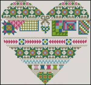 Схема Сэмплер в сердечке
