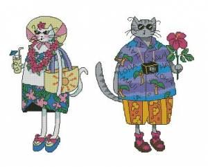Схема Классные коты