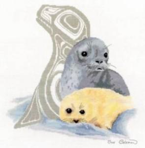Схема Отражение. Тюлень
