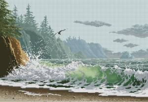 Схема Побережье / Humboldt coast