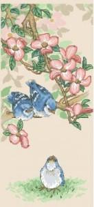 Схема Голубые птенцы