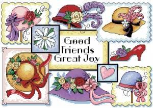 Схема Шляпки и туфелька / Good Friends