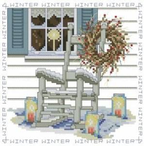 Схема Сезонные стулья. Зима