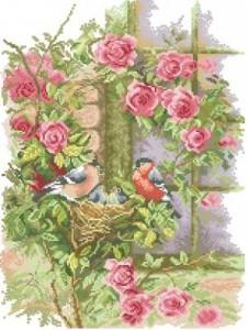 Схема В розах