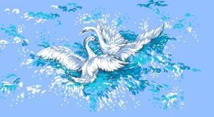 Схема Лебединая верность