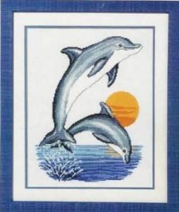 Схема Дельфины на закате
