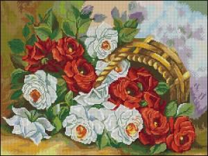 Схема Садовые розы
