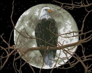 Схема Орел в лунном свете / Eagle in Moonlight