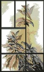 Схема Окна Осенне настроение / Windows Autumn mood