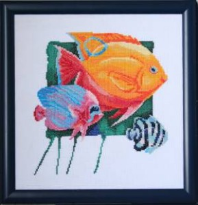 Схема Желтая рыбка