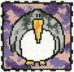 Схема Серия «Смешные животные» Пингвин