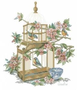 Схема Птичья клетка