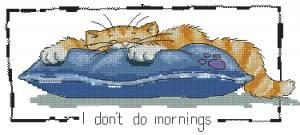 Схема Я не работаю утром!