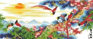 Схема Птицы