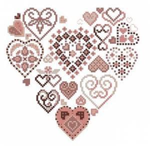 Схема Сердце сердечки