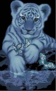 Схема Белый тигренок