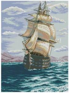 Схема Корабль Черноморского флота / Black Sea Fleet Ship