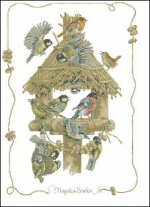 Схема Скворечник / Lanarte-birdhouse