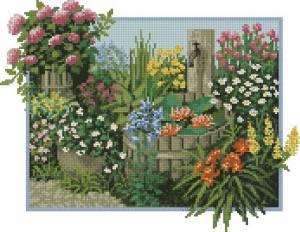 Схема Садовый уголок