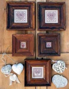 Схема Пять сердец / Cinq Coeurs