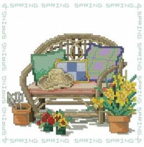 Схема Сезонные стулья. Весна