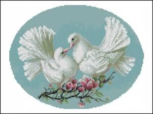 Схема Любовь и голуби