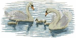Схема Семья лебедей
