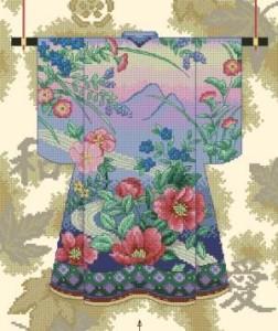 Схема Элегантное кимоно