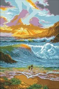 Схема Объятия моря. Метаморфоза света