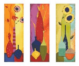 Схема Яркий триптих