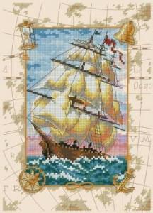 Схема Путешествие на море / Voyage at Sea