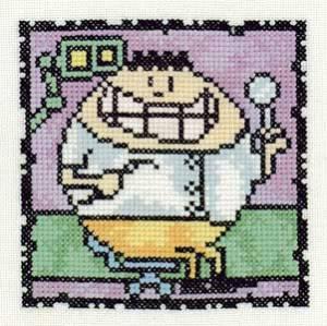 Схема Серия «Смешные человечки» Стоматолог