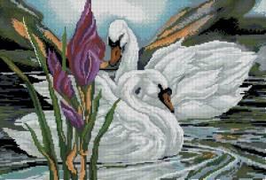 Схема Идеальная пара ( лебеди)