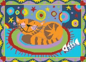 Схема Сонный кот