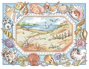 Схема Море. Ракушки