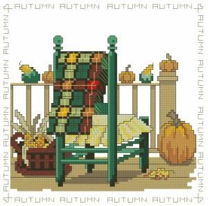 Схема Сезонные стулья. Осень