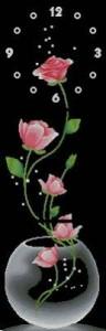 Схема Триптих Часы-розы