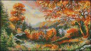 Схема Багряный лес