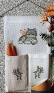 Схема Кошка на стене