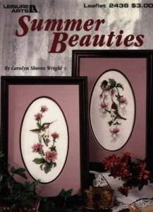 Схема Летняя красавица / Summer Beauties (часть 1)
