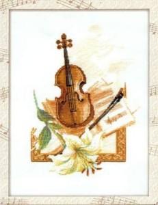 Схема Скрипка и лилия