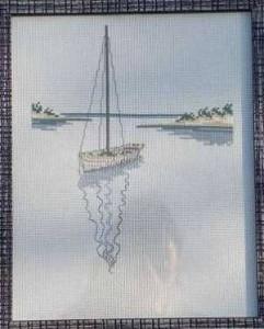 Схема Море. Лодки