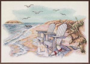 Схема Тихие моменты на пляже / Quiet beach Moments