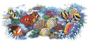Схема Тропические рыбки