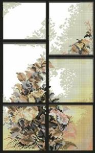 Схема Окна Летнее настроение / Windows Summer mood