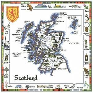 Схема Шотландия