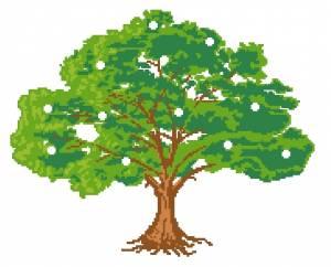 Скачать бесплатно схему для вышивки денежное дерево скачать