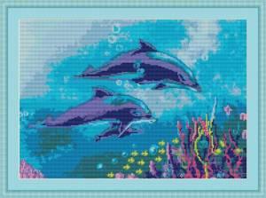 Схема Дельфины