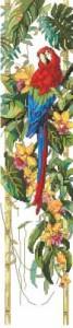 Схема Попугай панель / Tropical Bell Pul