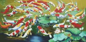 Схема Цветные рыбы (восток)